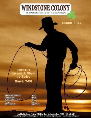 Windstone Colony March 2017