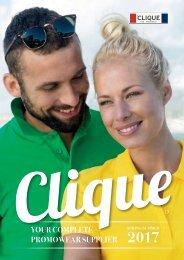 New Wave Switzerland Clique Spring - Summer 2017 Catalogue FR