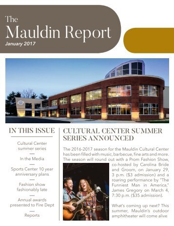 Mauldin Report | January 2017