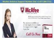 Mcafee Antivirus Support Number Dial +1 877-284-7711