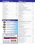 view our 2012 Vacation Guide - Bus Tours - Page 4