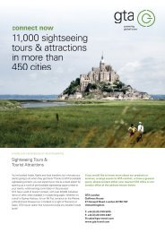 Sightseeing Tours & Tourist Attractions - Gullivers Travel Associates