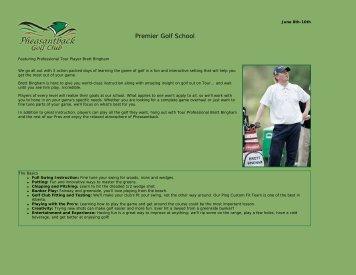Premier Golf School - Pheasantback Golf Club