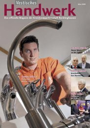 Handwerk - Das Magazin der Kreishandwerkerschaft Recklinghausen