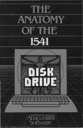 Anatomy of the 1541 Disk Drive - Jamtronix