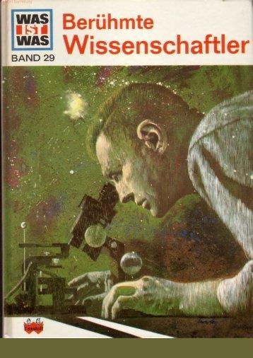 029 Was ist Was - Berühmte Wissenschaftler