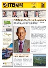 ITB Berlin News - Day 1