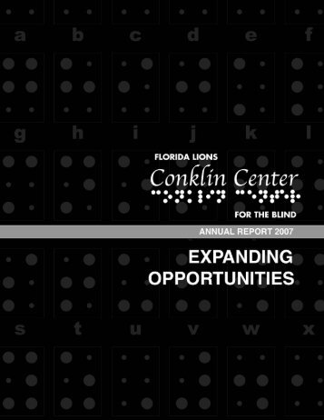 WWe - Conklin Center for the Blind