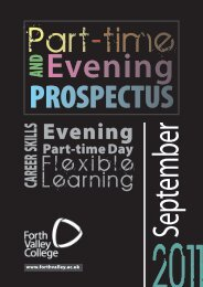 page 9 evening - Forth Valley College