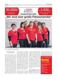 Aktiv Fitness | Bürgerspiegel