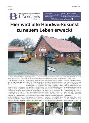 Borchers Metall | Bürgerspiegel