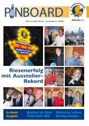 Riesenerfolg mit Aussteller- Rekord - Bundesverband Bowling eV
