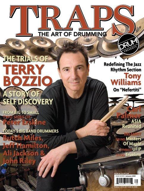 TeRRy Bozzio - DRUM! Magazine