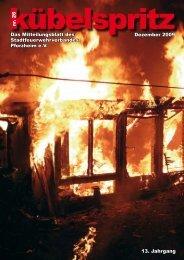 Unterstützen Sie den Stadtfeuer- wehrverband! Rufen Sie uns an