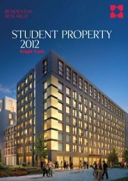 Student Property Research 2012 - Knight Frank