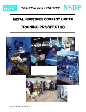 MIC/NSDP PROSPECTUS - Metal Industries Company Limited