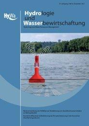 Tagungsbericht - Hydrologie und Wasserbewirtschaftung