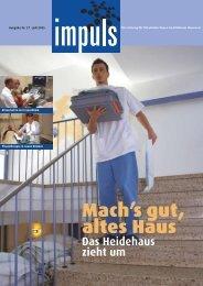 Impuls Nr. 27, Klinikum Hannover - bei text + thema
