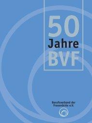 50 BVF Jahre - Berufsverband der Frauenärzte eV