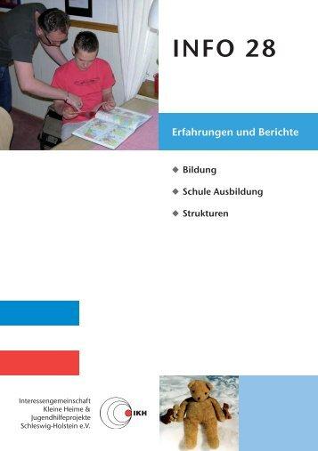 Bildung - Interessengemeinschaft Kleine Heime & Jugendhilfeprojekte