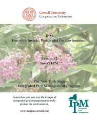 IPM Fun with Insects, Weeds and the Environment - New York State ...