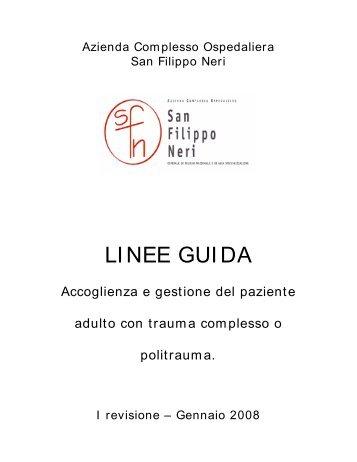 LI NEE GUI DA - Azienda Complesso Ospedaliero San Filippo Neri