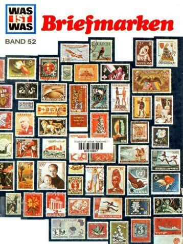 052 Was ist Was - Briefmarken