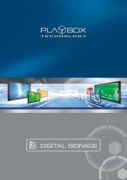 Digital Signage Solution Overview
