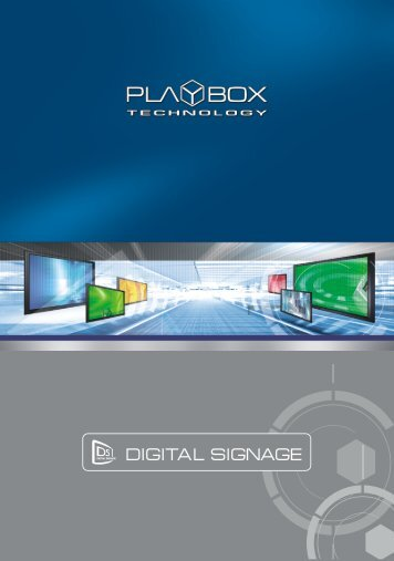 Digital Signage Solution Overview