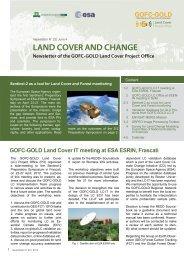 Newsletter 22 - GOFC-GOLD LC-IT Office - Wageningen UR
