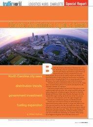 Charlotte Redistributes Logistics Growth - Bonded Logistics