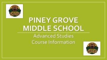 PINEY GROVE MIDDLE SCHOOL