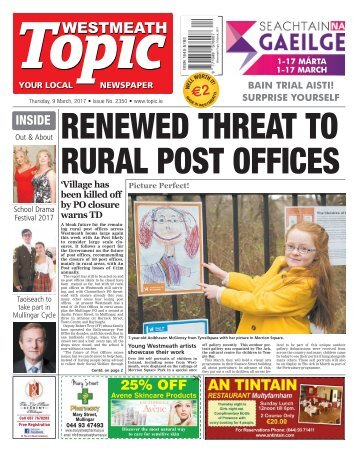 Westmeath Topic - 9 March 2017