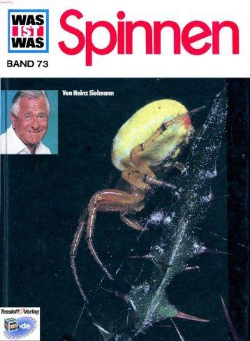 073 Was ist Was - Spinnen