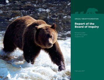 Report of the Board of Inquiry