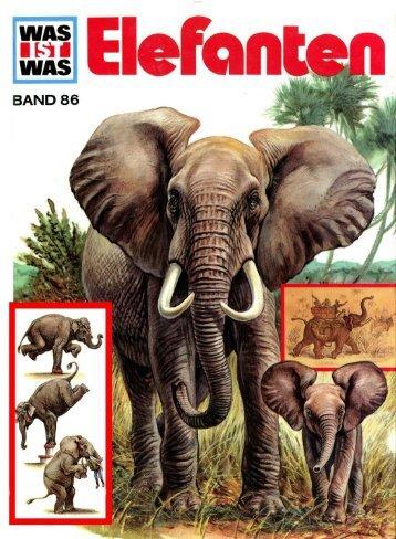 086 Was ist Was - Elefanten