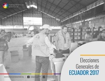 Elecciones Generales de ECUADOR 2017