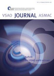 PDF-Ansicht öffnen (5 mb) - VSAO Journal