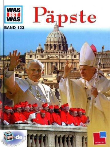 123 Was ist Was - Päpste