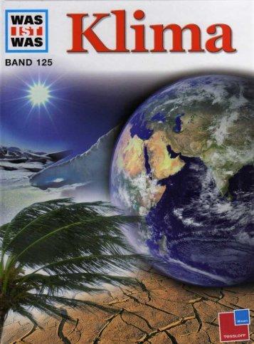 125 Was ist Was - Klima