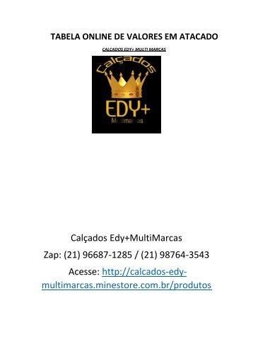 Tabela Online Calçados Edy+ Multi Marcas (1)