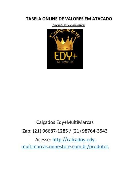 331181f08 Tabela Online Calçados Edy+ Multi Marcas (1)