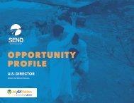 SEND International U.S. Director Opportunity Profile