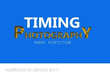 TIMING PHOTOGRAPHY 201702 BAQ