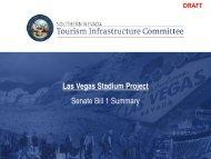 Las Vegas Stadium Project Senate Bill 1 Summary