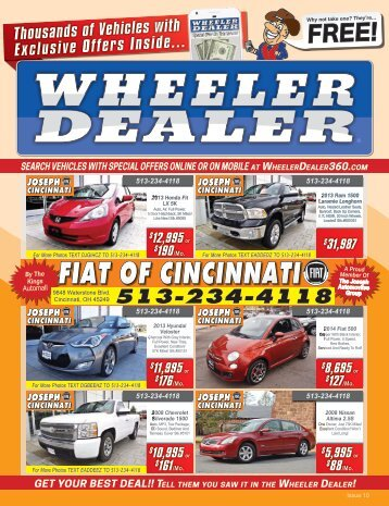 Wheeler Dealer Issue 10, 2017