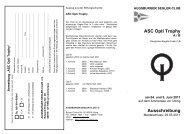 ASC Opti Trophy Ausschreibung - Augsburger Segler-Club e.V.