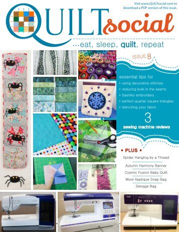 QUILTsocial | Issue 08