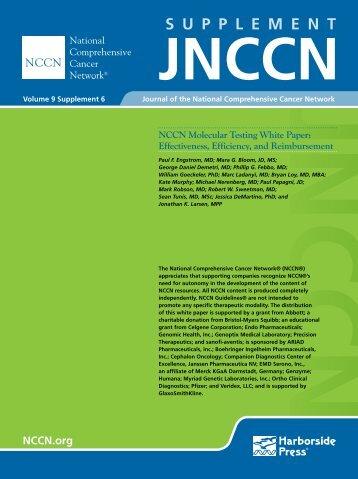 JNCCN NCCN Molecular Testing White Paper - National ...