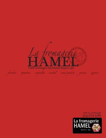 La fromagerie - Fromagerie Hamel